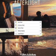 Type: Free Cute Lil sunset filter (P.s I'm looking for. Co-owner)