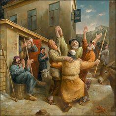 Dans van de herders By Marius van Dokkum