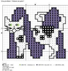 alfabeto dei gattini M