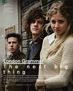 London Grammar Love the music, Strong is my favorite