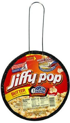 My sisters & I just loved Jiffy Pop. Loved watching the magic! And...we still sell them at my grocery store. The kids come through my line & always ask Mom or Dad, 'how does this work?'