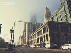 chicago. #fog