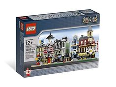 10230 Mini Module Sets LEGO Creator by LEGO Authentic miniature representation of first 5 Modular Buildings: Caf? Lego Store, Kids Store, Toy Store, Shop Lego, Lego Building Sets, Lego Sets, Lego Creator, The Creator, Lego Age