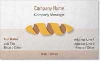 bread Premium Business Cards