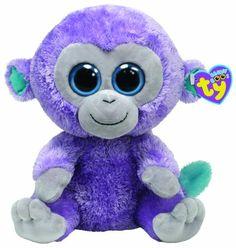 9e59d887e8e Amazon.com  Ty Beanie Boo Buddy Blueberry Monkey  Toys   Games