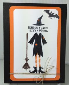 Tee-Hee-Hee Stampin' Up! - Halloween - Jillscreativeimagination@blogspot.com