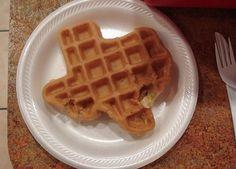 Texas waffles!