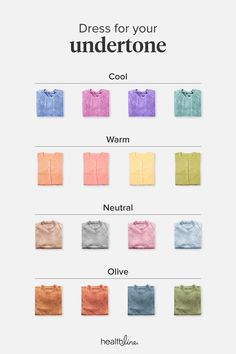 Skin Undertones Chart: Warm Cool Neutral Pink Yellow and Yellow Skin Tone, Neutral Skin Tone, Cool Skin Tone, Colors For Skin Tone, Pink Yellow, Color Yellow, Light Olive Skin, Skin Color Palette, Colour Palettes