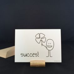 Kaartjes|Studio WouLie Good Luck, Creative Inspiration, Bujo, Bullet Journal, Presents, Place Card Holders, Letters, Drawings, Cards