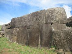 Rapa Nui wall - site de Vinapu