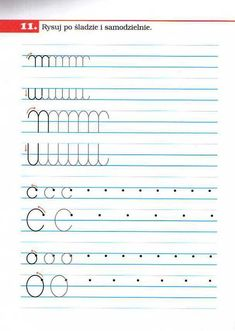 Preschool Writing, Teaching Kindergarten, Cursive Handwriting Practice, Alphabet For Kids, Kids Education, Lettering, Humor, Worksheets, Preschool