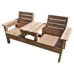 Custom-Made Patio Bench on Chairish.com