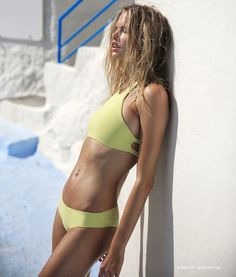 Swimwear brand Tori Praver features Sabina bikini top and Gemma bottom