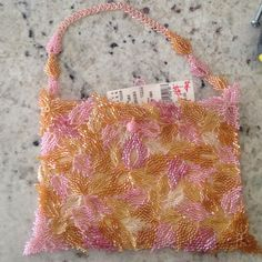 SALE NWT Aprosio & Co. small beaded bag Brand new and so beautiful Bags
