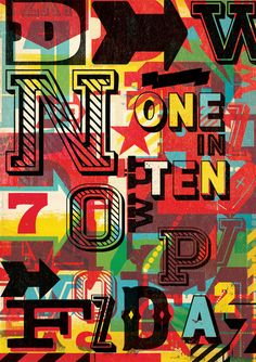 One In Ten – Ilovedust – Illustrators & Artists Agents – Début Art