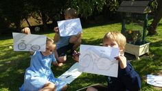How to draw a bicycle..Great outdoor activity
