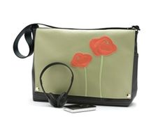 A laptop bag that's handmade - and lovely. From Queen Bee.