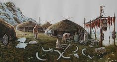 Islay mesolithic habitation reconstruction