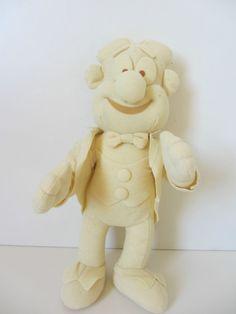 Collectable lurpak Douglas doll soft toy