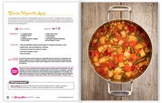 The Hungry Hottie Cookbook | Vegetable Soup