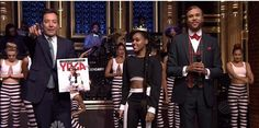 """Janelle Monáe & Jidenna Perform """"Yoga"""" Live on Jimmy Fallon Live [Tv]- http://getmybuzzup.com/wp-content/uploads/2015/05/Janelle-Monáe-650x323.jpg- http://getmybuzzup.com/janelle-monae-jidenna-perform-yoga-live-on-jimmy-fallon-live-tv/- In case you missed it; watch JanelleMonáe & Jidenna perform the song titled """"Yoga"""" live on Jimmy Kimmel.Enjoy this videostream below after the jump.  Follow me:Getmybuzzup on Twitter