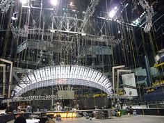 rigging has many terms. It can mean the something is in a workable state, the a shirt is ready for a quick change, or the equipment used in hanging scenery and lighting over the stage for a show. There are many ways to rig something like a hemp system or a counter weight system. A counter weight system uses an Aircraft Cable. That is a high strength cable made of steel.