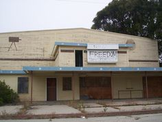 "Fort Ord ""The Old Movie Theater"" after base closing"