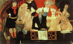 Brothel in Montparnasse, 1928 by Tsuguharu Foujita (1886-1968)