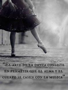 Porque la danza es vida!! Es Arte!!!