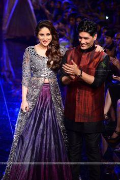 Bebo and Manish malhotra LFW