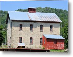 Schech's Mill 7696 Metal Print by Bonfire #Photography