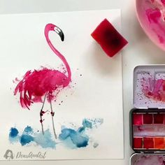 Watercolor Art Lessons, Watercolor Painting Techniques, Watercolor Paintings, Watercolor Artists, Painting Lessons, Painting Tutorials, Abstract Paintings, Oil Paintings, Painting Art