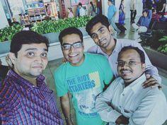 Selfie with Friends... #friends #selfie #mumbai #bhubaneshwar #trip