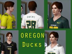 The Ducks enter the world of The SIMS! Awesome Custom Jerseys! #nationalbrand