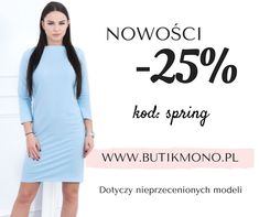 Odśwież szafę na wiosnę 😍 Nie bój się zachwycać stylem i wybierz coś dla siebie z nowej kolekcji 💖 KLIK >>> www.butikmono.pl >>> LINK W BIO Tylko do końca tygodnia NOWOŚCI -25% 🌺 z kodem: SPRING   #butikmonopl #butikmono #wiosna #spring #inspo #inspiration #ootd #outfitoftheday #outfit #styl #style #stylizacja #brunetka #blondynka #polskakobieta #polskadziewczyna #polishwoman #look #lookoftheday #smile #hot #pretty #beauty #love #shopping #picoftheday #stylish #glam #instawoman
