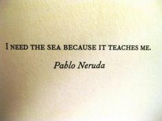 need the sea