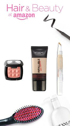 Foundation, concealer, highlighter--you can find it all at Amazon.