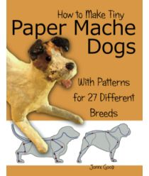 Read Jonni Good's book How to Make Tiny Paper Mache Dogs: With Patterns for 27 Different Breeds. Published on by Wet Cat Books. Paper Mache Projects, Paper Mache Clay, Paper Mache Sculpture, Paper Mache Crafts, Dog Sculpture, Animal Sculptures, Diy Paper, Paper Art, Paper Mache Animals