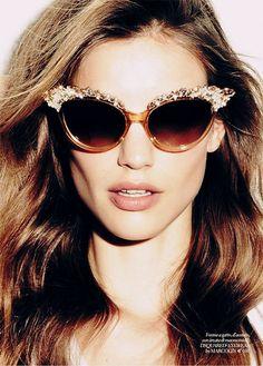 summertime. | glitter #sunglasses