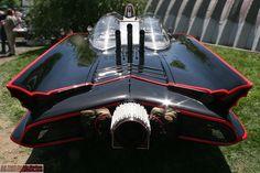 Batmobile from behind - #batmobile #batman #hotrods