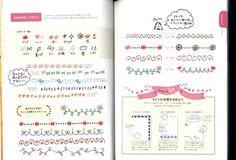 I love Ballpoint Pen Easy Illustration Book - Japanese Book MM Tangle Doodle, Doodles Zentangles, Planner Doodles, Ballpoint Pen Drawing, Pen Illustration, Japanese Drawings, Doodle Art Drawing, Sketch Notes, Japanese Books