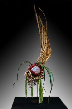 Modern Floral Arrangements, Creative Flower Arrangements, Ikebana Arrangements, Flower Show, Flower Art, Arte Floral, Flower Making, Flower Designs, Creative Design