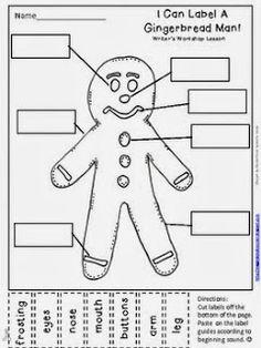 Peek at my Week-Gingerbread Man style