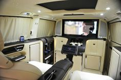 The BRABUS iBusiness 3D is based on the Viano Mercedes Van, offering a lot more room and e...