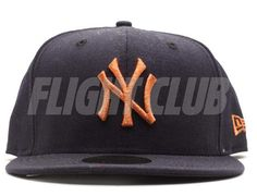 Navy Copper New York Yankees 59Fifty Fitted Cap by NEW ERA x MLB