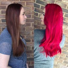 KEUNE Keune Color Craving palaipsniui nusiplaunantys plaukų dažai - spalva raudona Red, 150ml