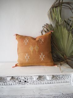 Made with love by skilled artisans in Morocco, our one of a kind cactus silk cushions are now online! 🧡🌙✨ Artisan, Blush, Cushions, Throw Pillows, Morocco, Cactus, Inspiration, Silk, Home Decor