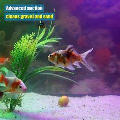 Electric Aquarium Gravel Cleaner - OFF - Goolemoo Store Aquarium Gravel, Aquarium Fish, Self Cleaning Fish Tank, Fish Feed, Fish Tanks, Freshwater Aquarium, Water Plants, Filter, Plant Leaves
