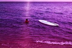 Film Photography, Amazing Photography, The Ch, Lomography, Saturated Color, Deep Purple, Waves, Boat, Colours