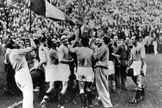 l'italie est championne du monde en 1934 face a l'allemagne